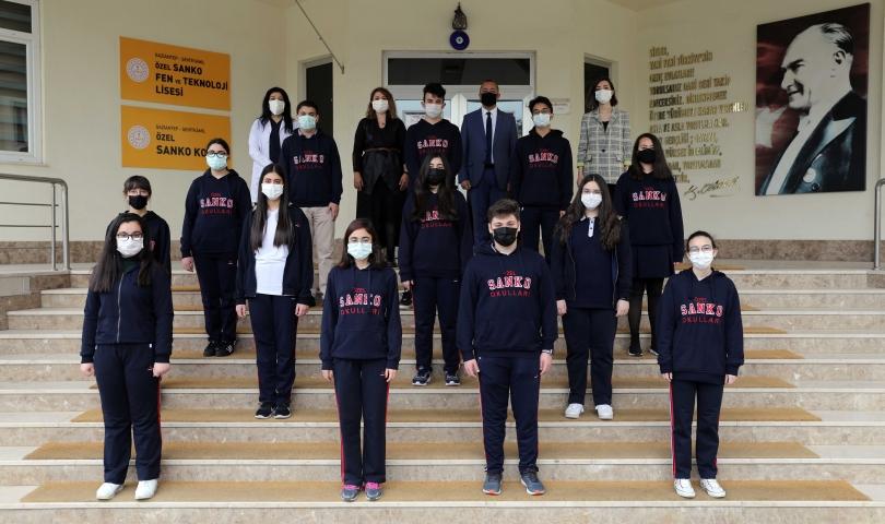 SANKO Okulları'nın üç projesi Türkiye Finallerinde yarışacak
