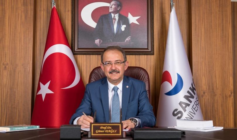 Rektör Dağlı'dan,  23 Nisan Ulusal Egemenlik ve Çocuk Bayramı mesajı