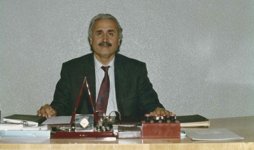 Başkan Ünverdi, merhum Naci Topçuoğlu'nu vefatının 13. yıl dönümünde andı