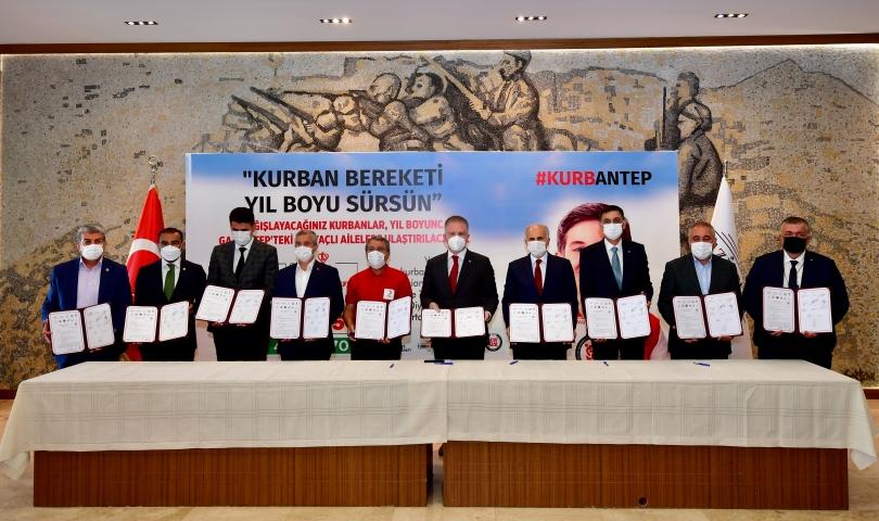 Kurbantep Protokolünün üçüncüsü imzalandı