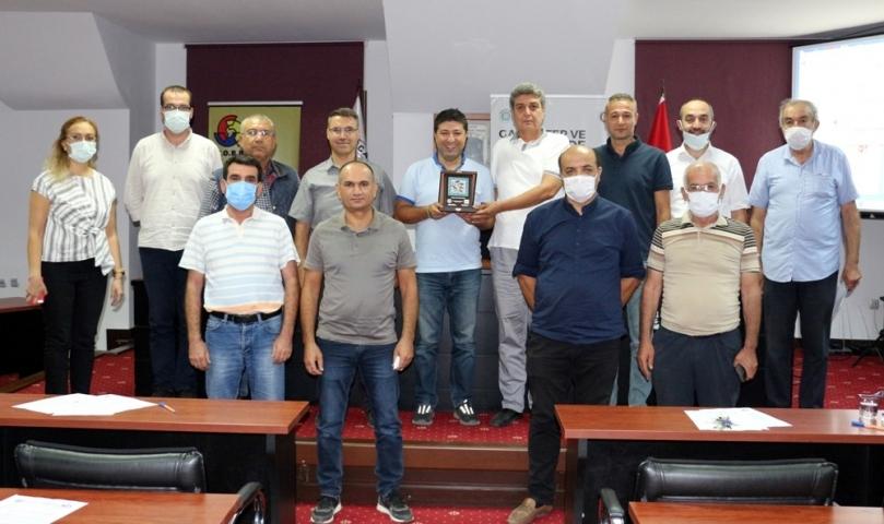 NTO' da Zeytin Zektörü Eğitimleri düzenlendi