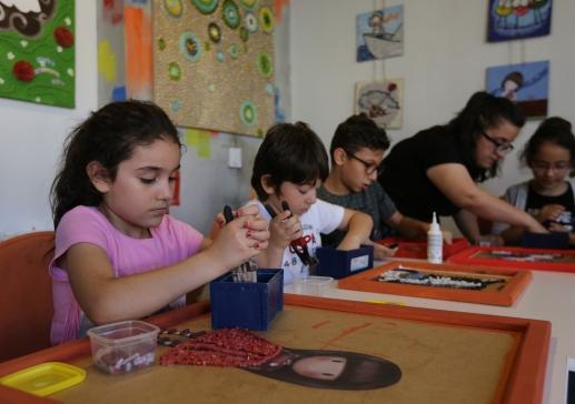 Çocuk Sanat Merkezi, Yaz Kurslarıyla Renklendi