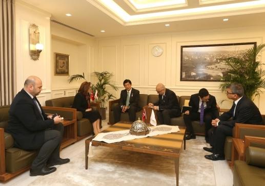 Başkan Şahin: Japonya Gerçek Dostumuz